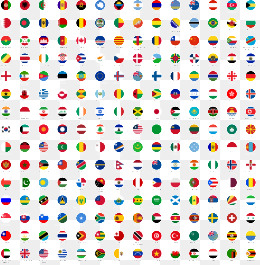 260x265 World Flags Vector Png, Vectors, Psd, And Clipart For Free