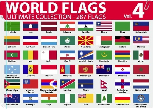 514x368 World Flags Vector Free Free Vector Download (4,021 Free Vector
