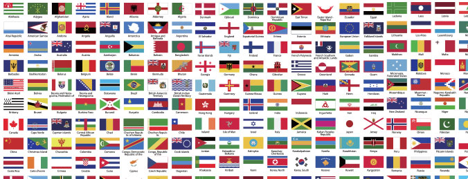 676x259 World Flags