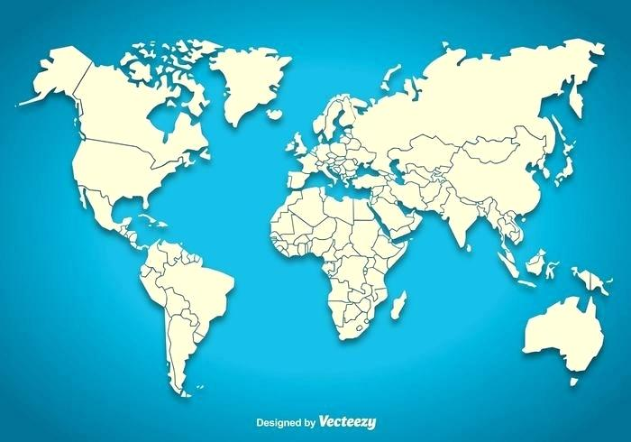 700x490 Accurate Vector World Map Detailed Copy Map World High Resolution