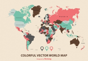285x200 World Maps Free Vector Graphic Art Free Download (Found 4,752
