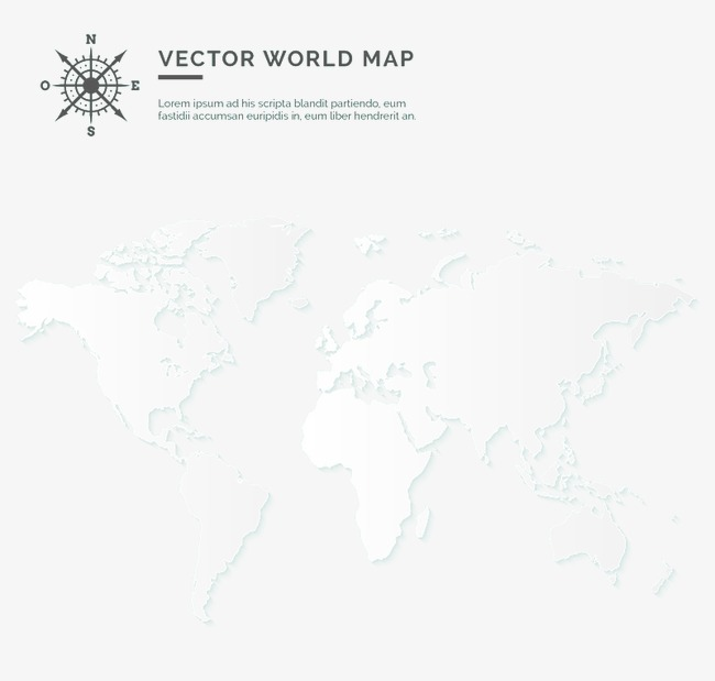 World Map Vector Black And White at GetDrawings.com | Free for ...