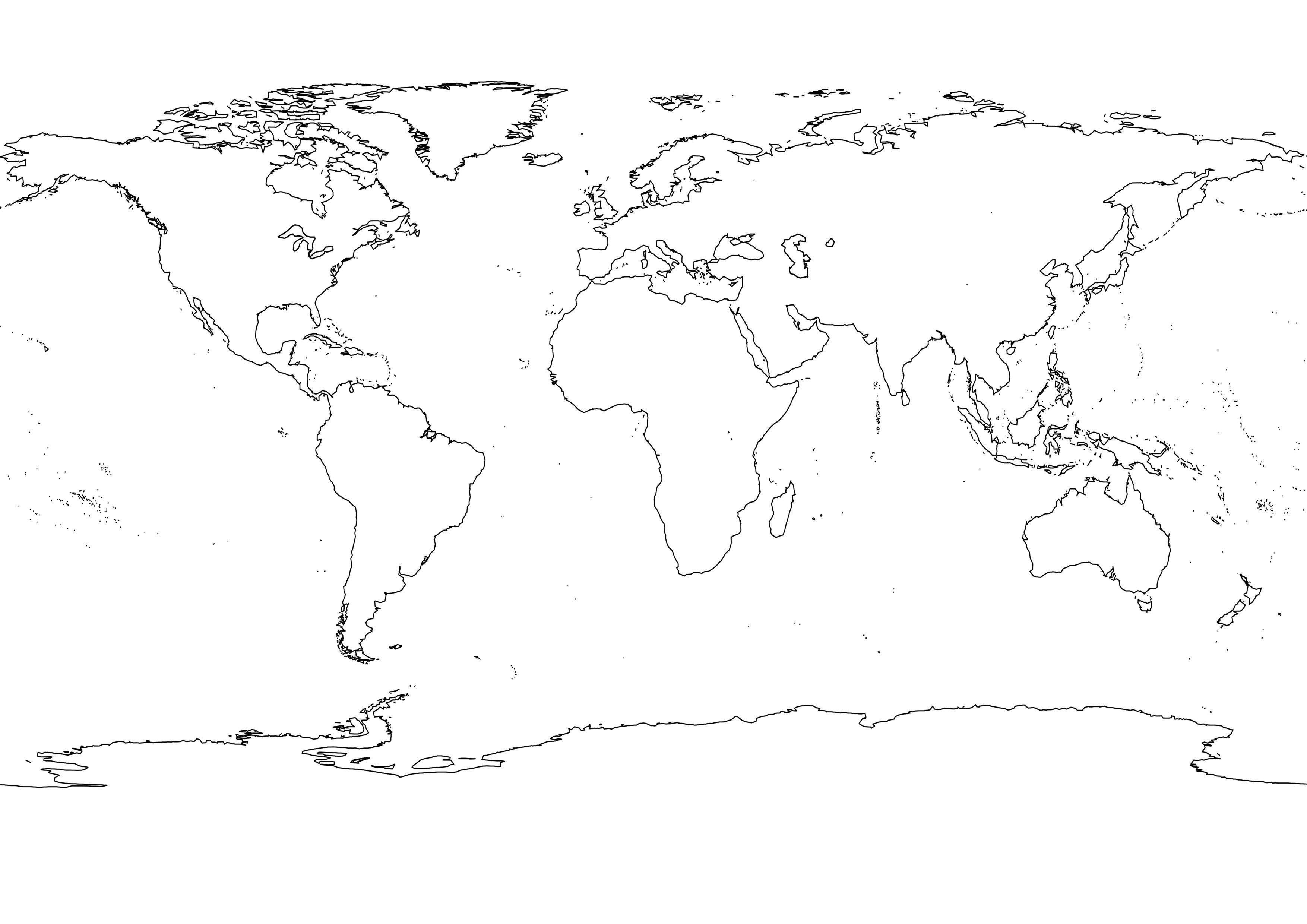 3508x2480 World Map In Globe Vector Copy Best World Map Cartoon Globe Save