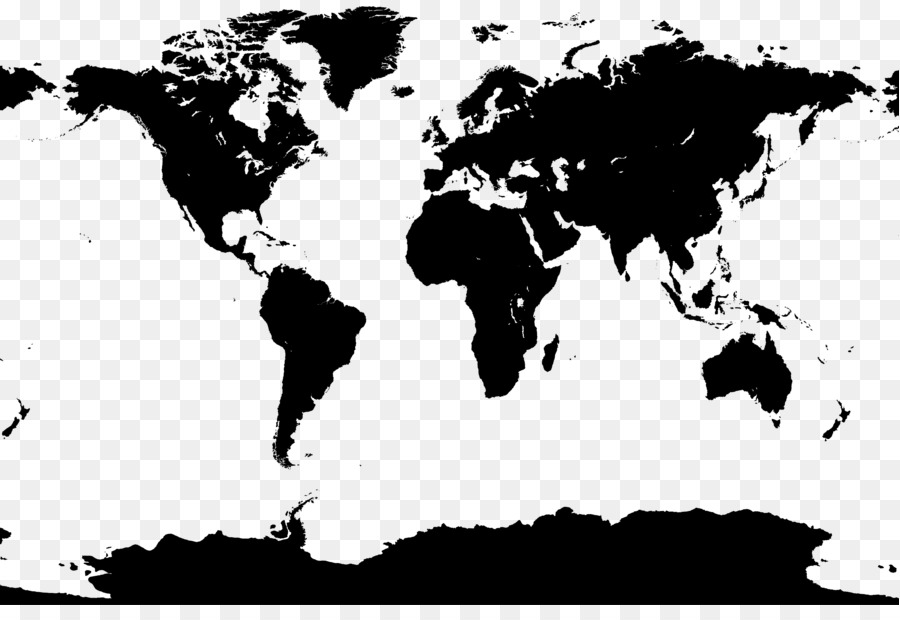 900x620 World Map Vector Map