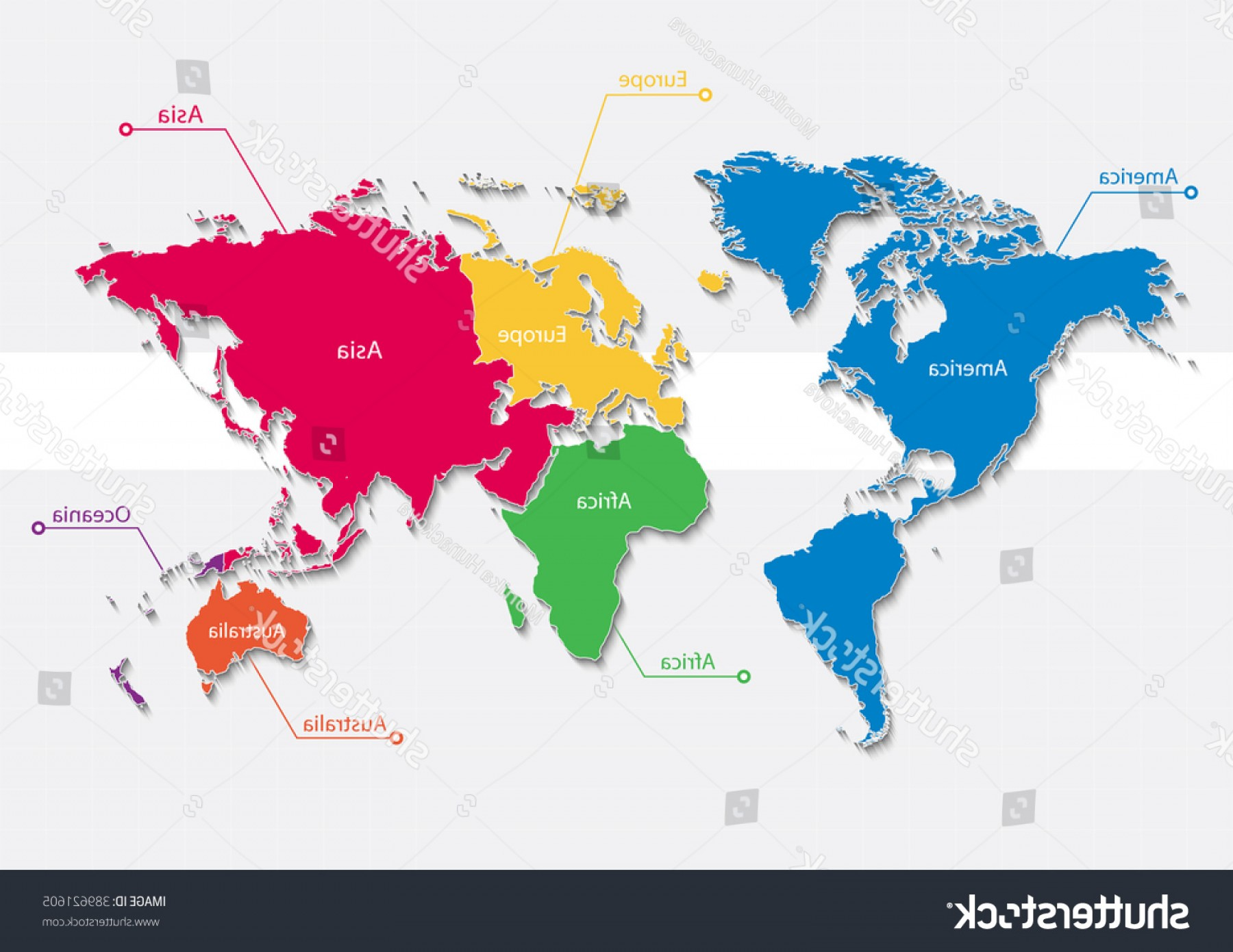 World Map Vector Continents at GetDrawings.com | Free for personal ...