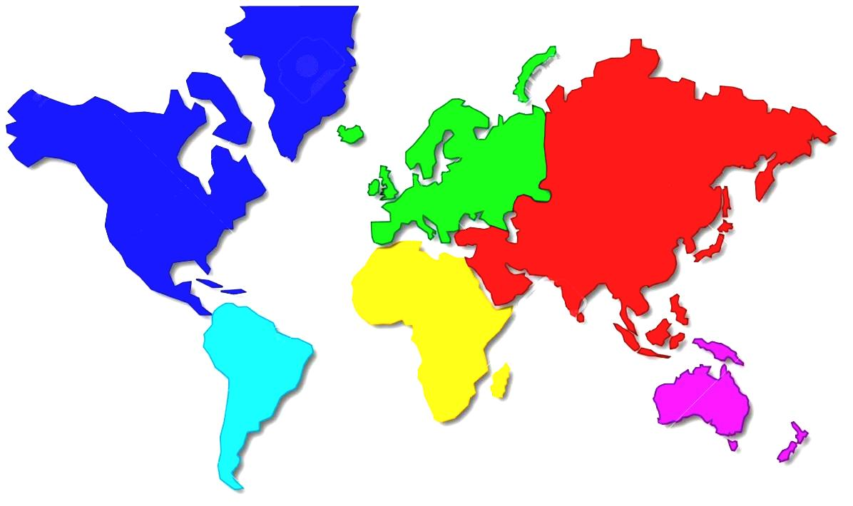 World Map Vector Continents At Getdrawings Com Free For Personal