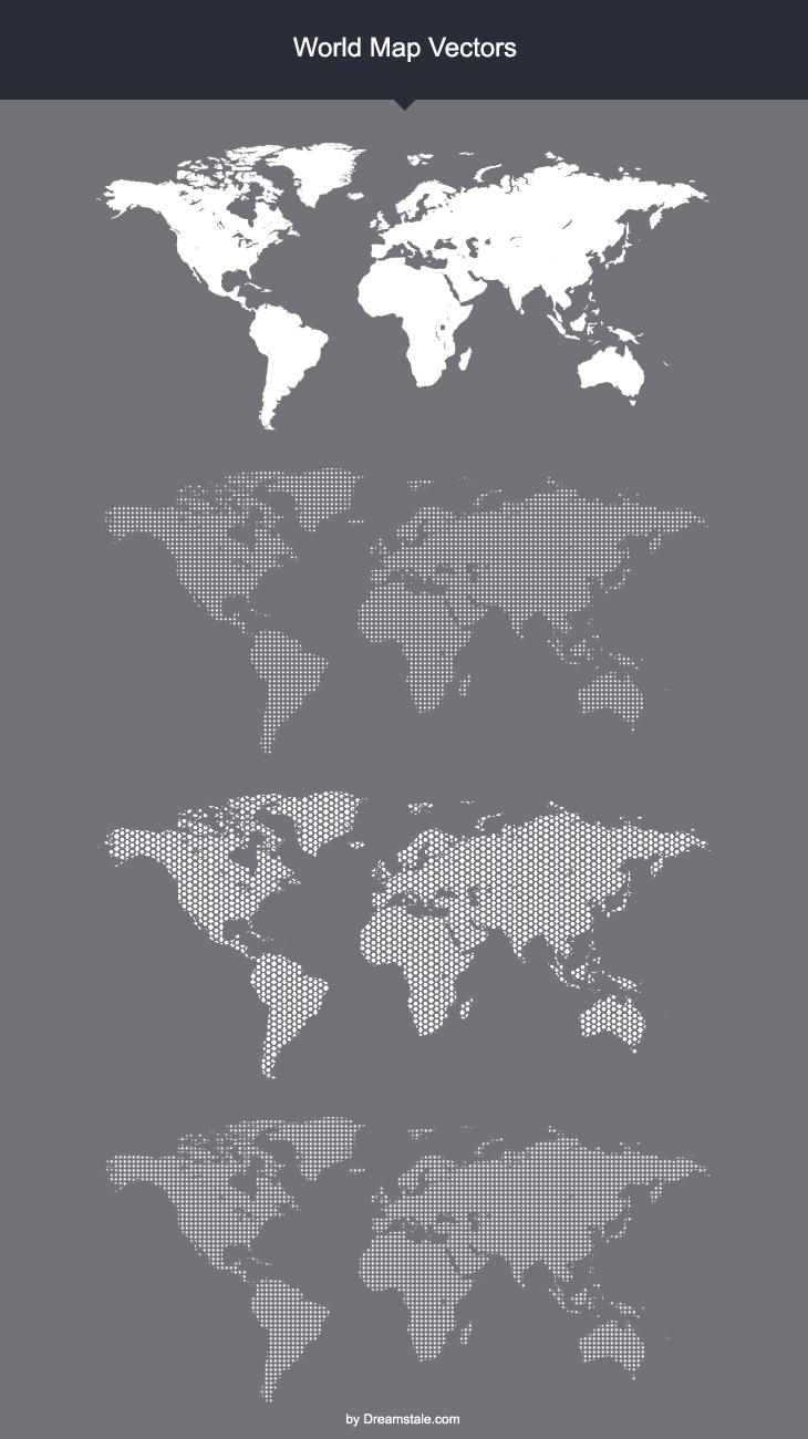 730x1300 Free World Map Vector Mock Ups Templates Printampweb Design