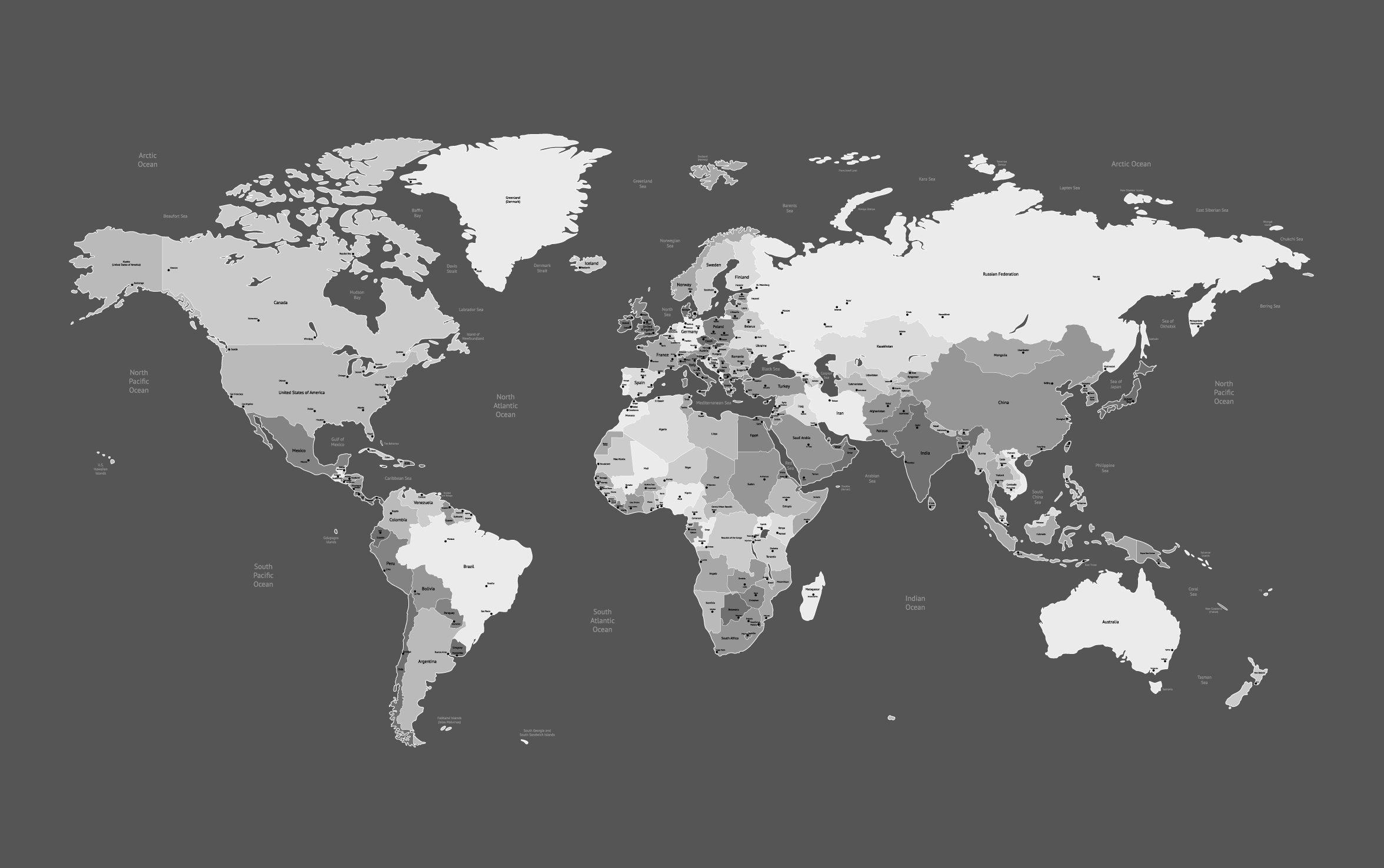 World Map Vector Free at GetDrawings.com | Free for personal use ...