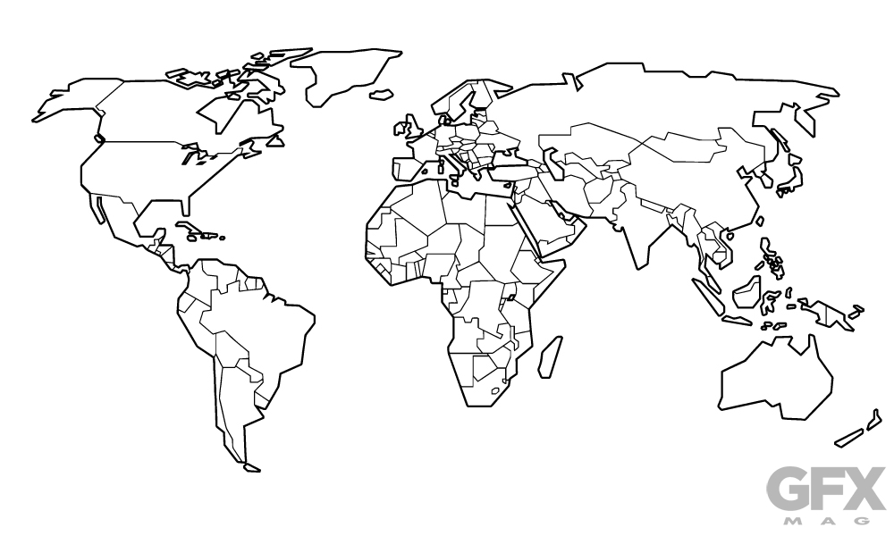 World Map Vector Free Download at GetDrawings.com | Free for ...