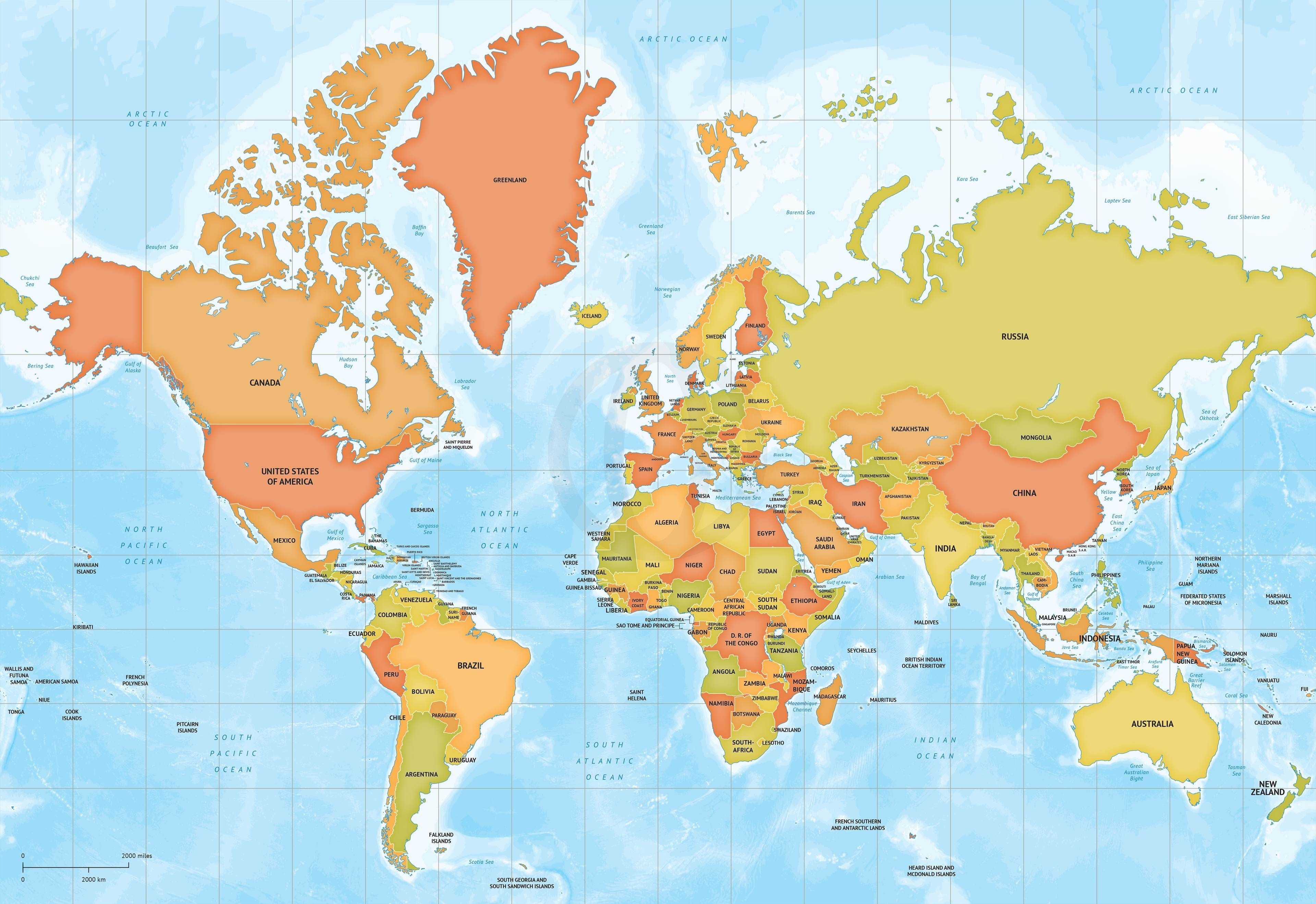 3840x2637 World Map Vector Eps Free Download Fresh Bes And World Map Vector