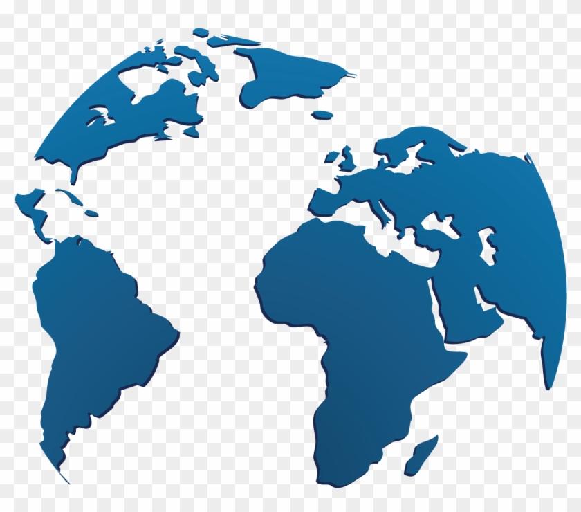 840x740 Earth Globe World Map