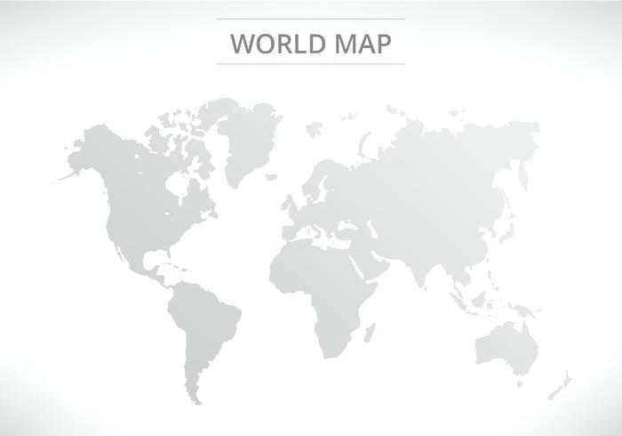 World Map Vector Png At Getdrawings Com Free For Personal Use