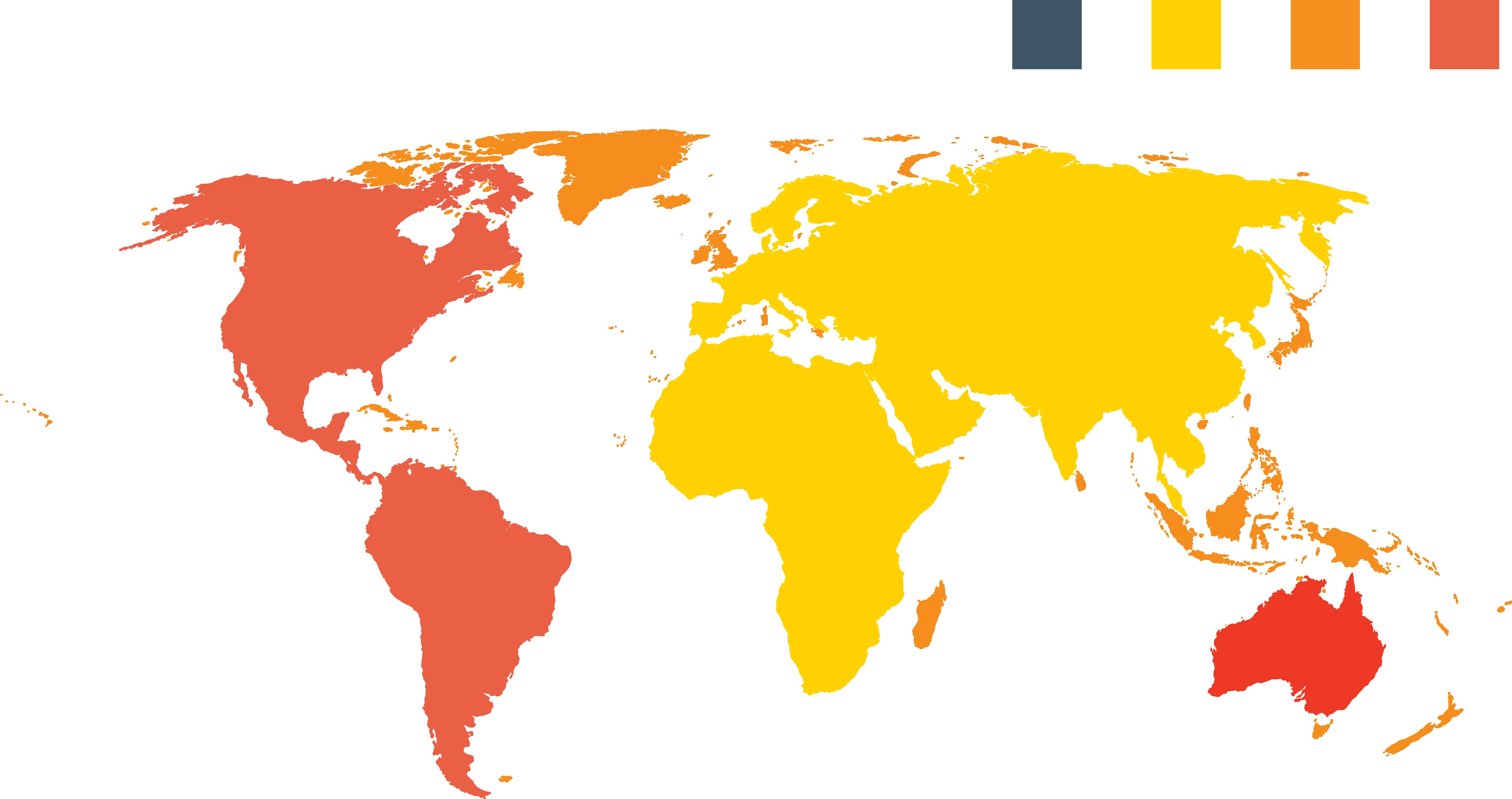 5679x3001 World Map Globe