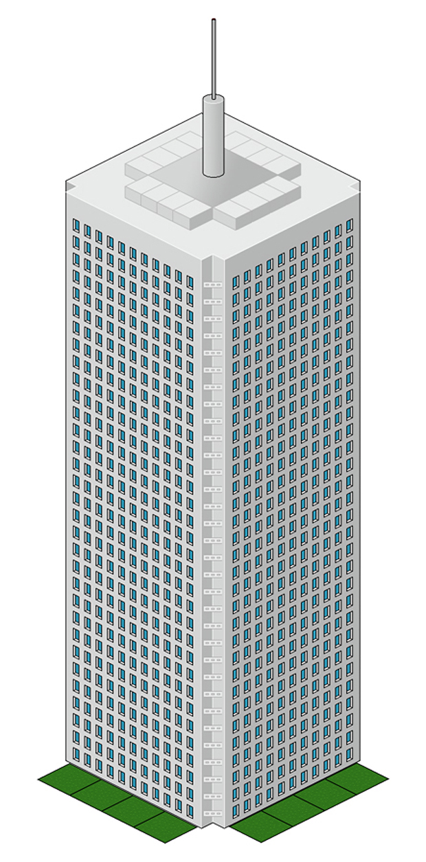 World Trade Center Vector