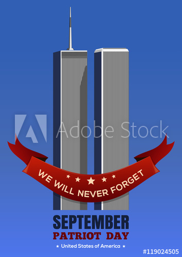 354x500 Patriot Day Background. September 11 Attacks, 9.11. Twin Towers Of