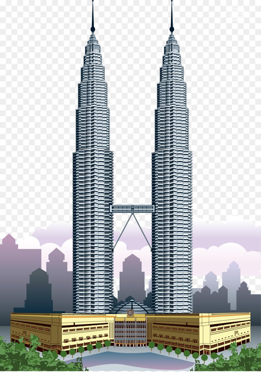 900x1280 Petronas Towers Kuala Lumpur City Centre Burj Khalifa World Trade