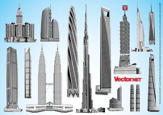 620x439 Burj Dubai, Shanghai Tower, Chicago Spire, China 117 Tower, Abraj