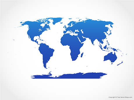460x345 Vector World Maps Free Vector Maps
