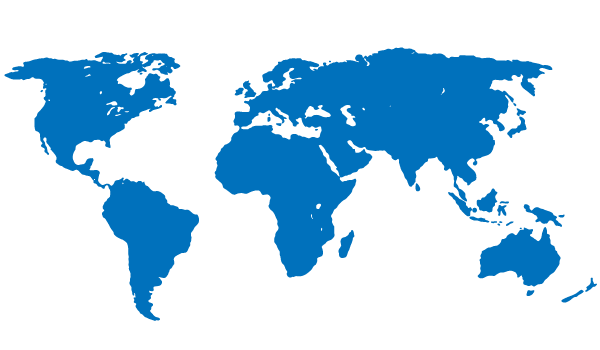 600x350 Blue World Map Free Vector 123freevectors