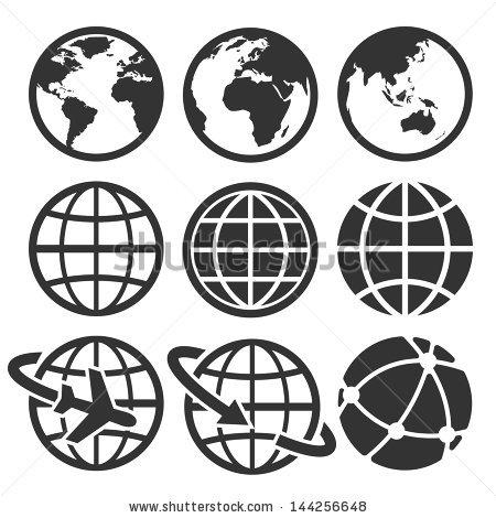 450x470 Free Globe Vector Icon 357773 Download Globe Vector Icon