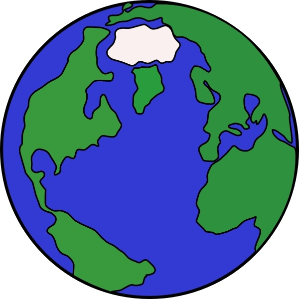600x600 World Globe Clip Art Free Vector In Open Office Drawing Svg 2