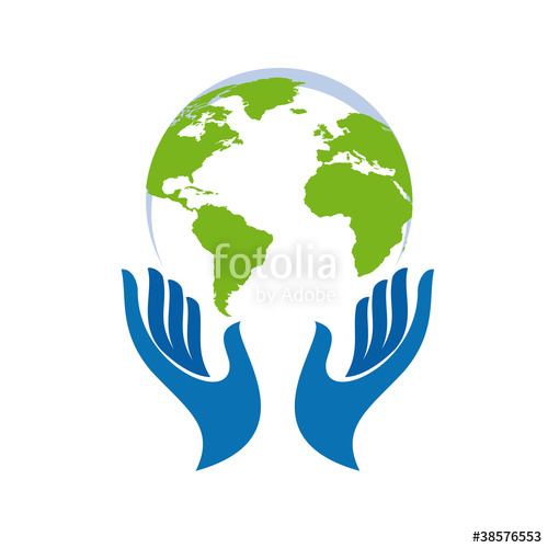 500x500 Logo Hand And The World