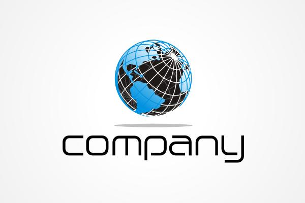 600x400 Free Logo Generic Globe Vector Logo