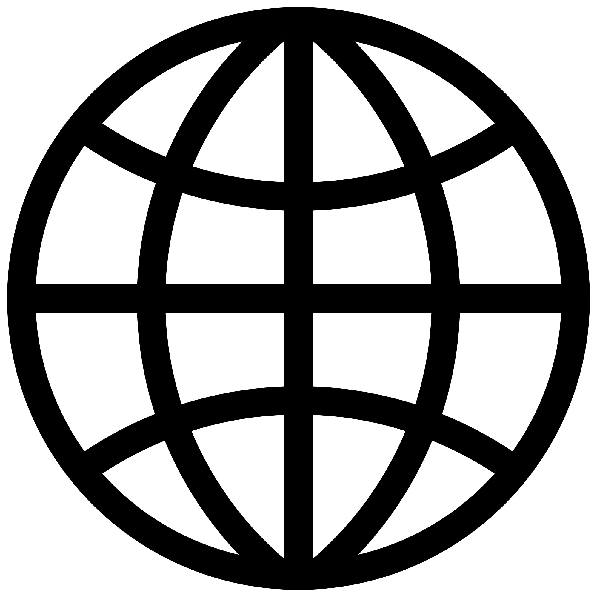World Wide Web Icon Vector