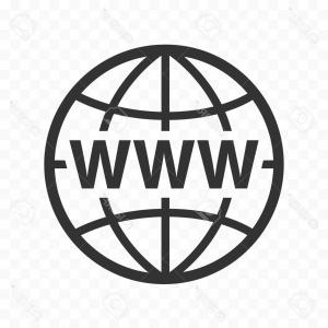 300x300 Internet Sign Icon World Wide Web Symbol Vector Geekchicpro
