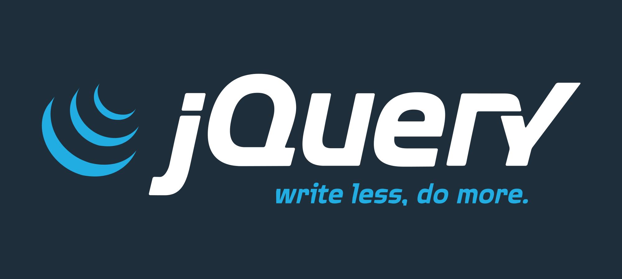 2000x898 Jquery Logo Vector Png Transparent Jquery Logo Vector.png Images