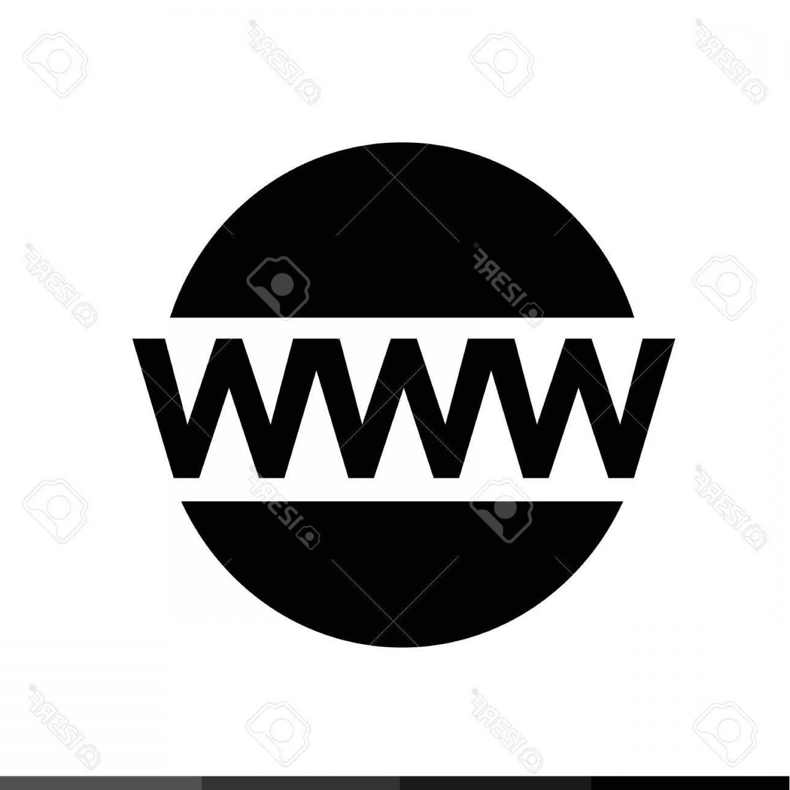 1560x1560 Photostock Vector World Wide Web Symbol Icon Illustration Design