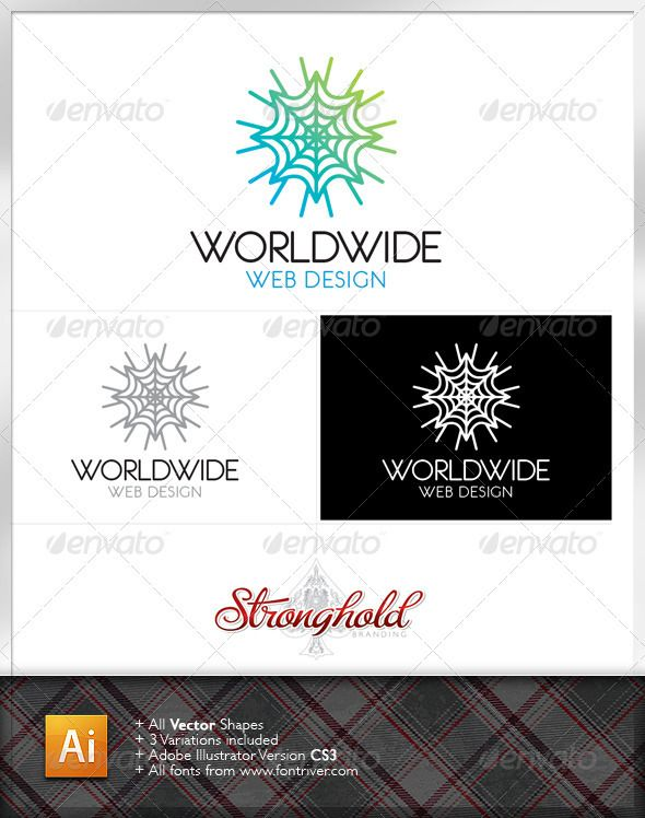 590x748 World Wide Web Logo Template Logo Templates