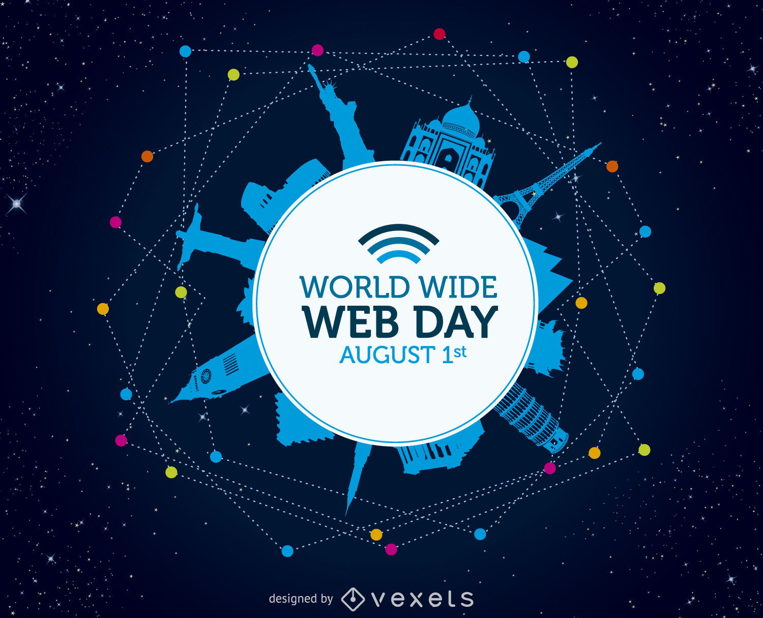 1500x1215 World Wide Web Day Poster