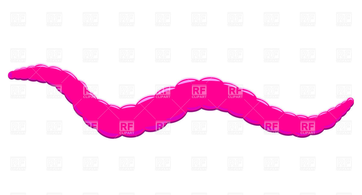 1200x648 Pink Worm Vector Image Vector Artwork Of Plants And Animals