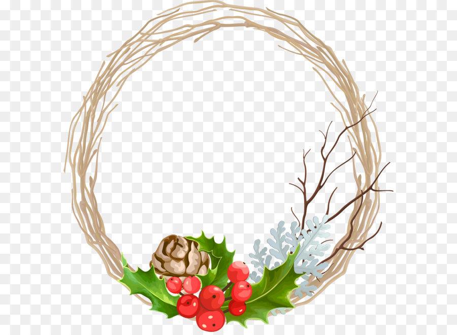 900x660 Wreath Christmas Garland