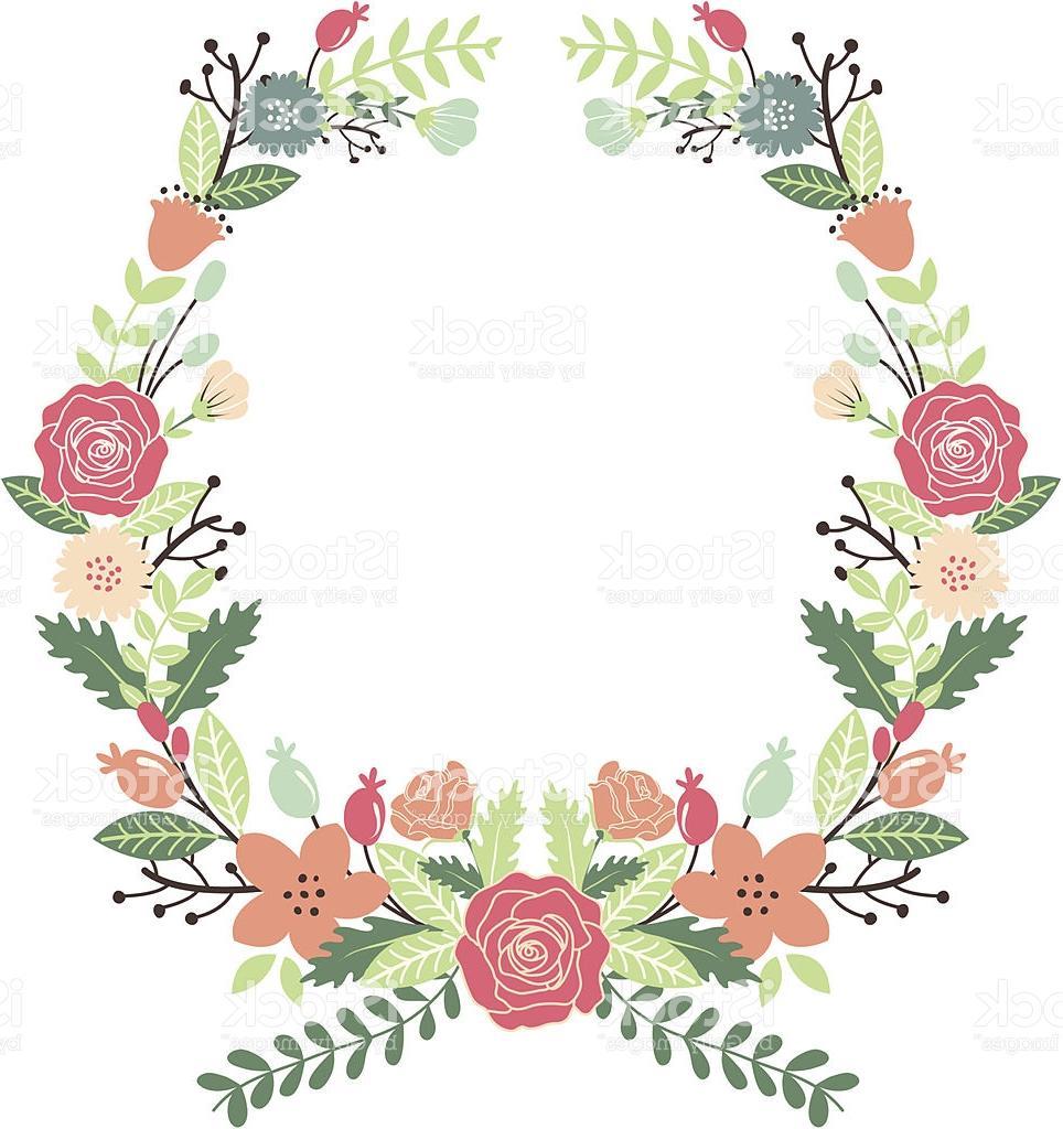 964x1024 Best 15 Vintage Flowers Wreath Vector Cdr
