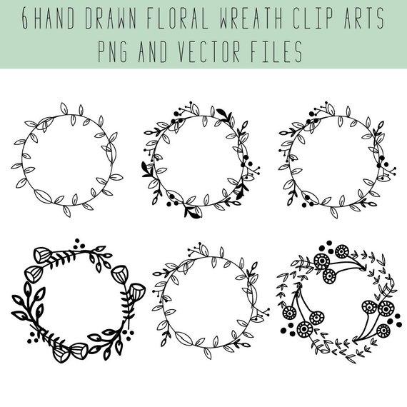 570x570 Floral Wreath Wreath Clip Art Floral Wreath Vector