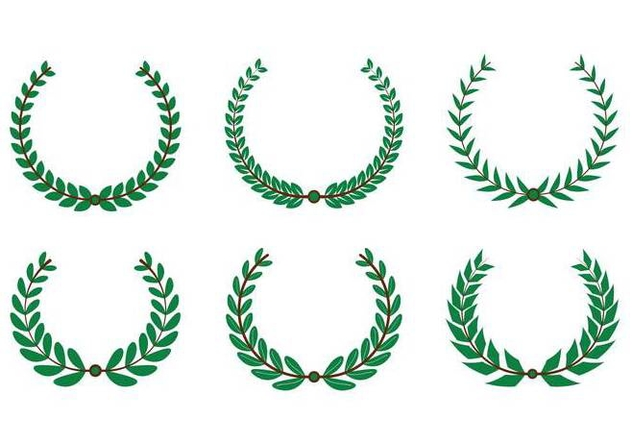632x443 Olive Wreath Vector Free Vector Download 352525 Cannypic