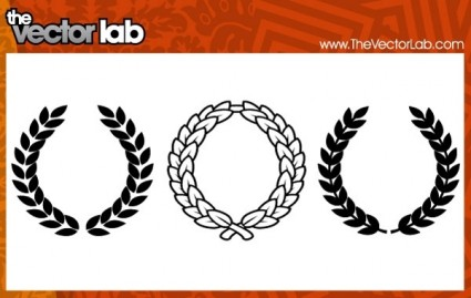 425x269 Wreaths Vector Free Vector Download In .ai, .eps, .svg Format