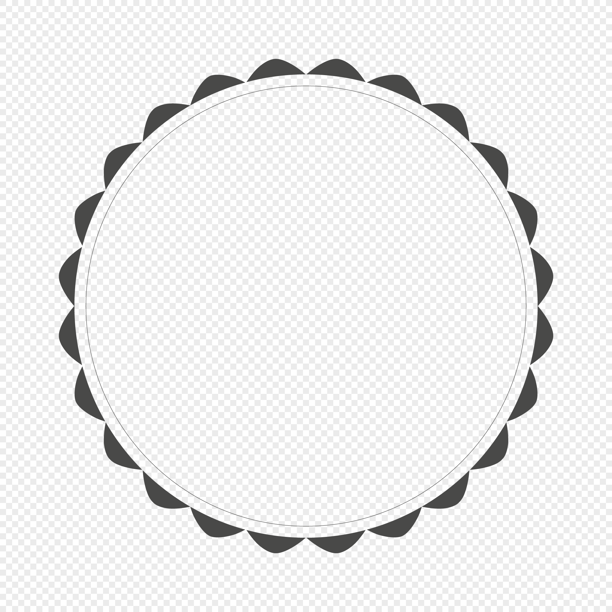 2020x2020 Circular Wreath Vector Diagram Png Image Picture Free Download