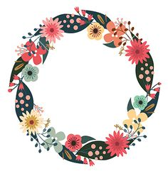 Wreath Vector Png