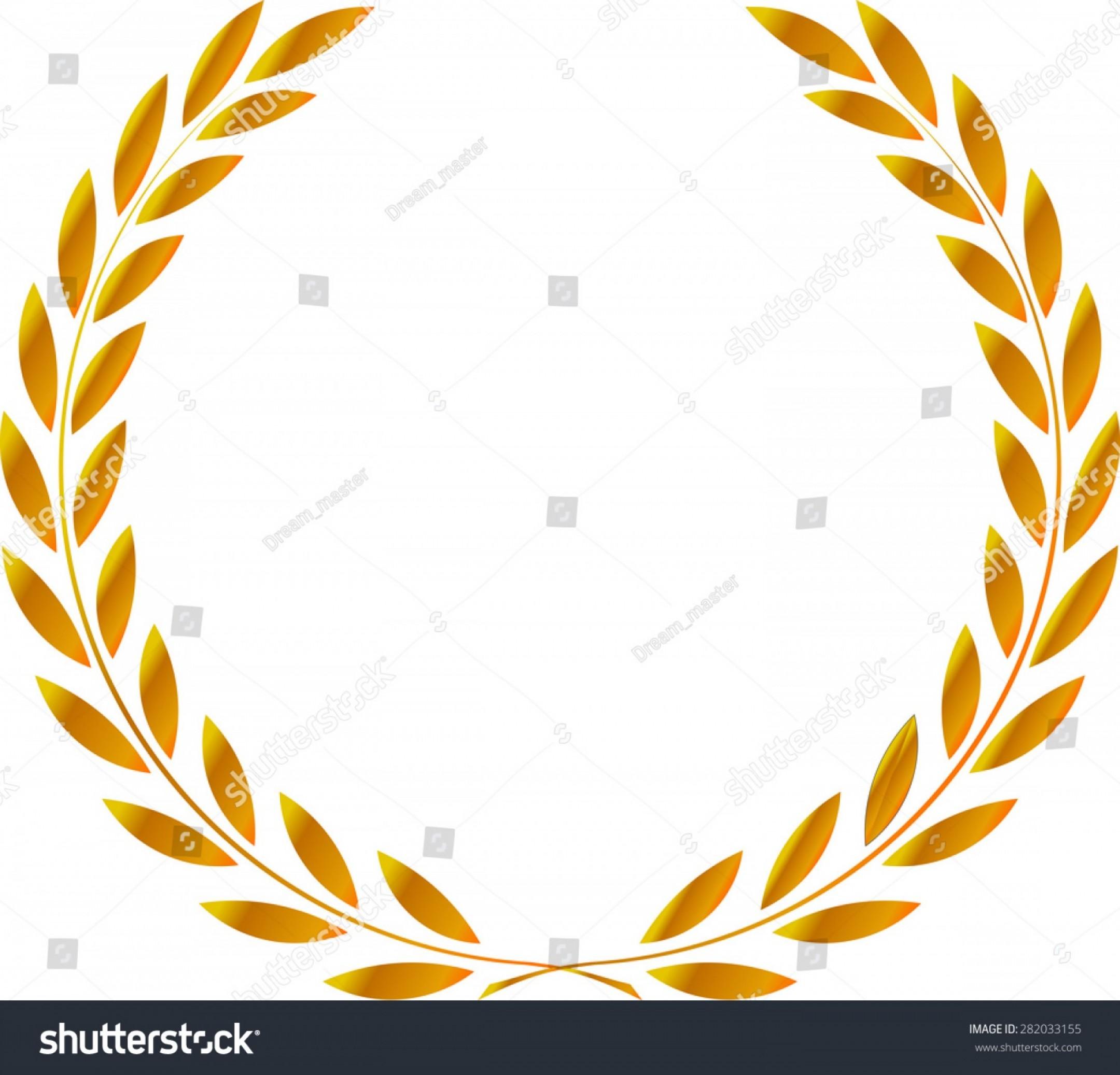 2160x2074 Icon Laurel Wreath Vector Illustration Gold Rongholland