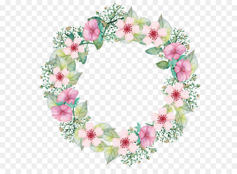 900x660 Paper Flower Bouquet Wreath