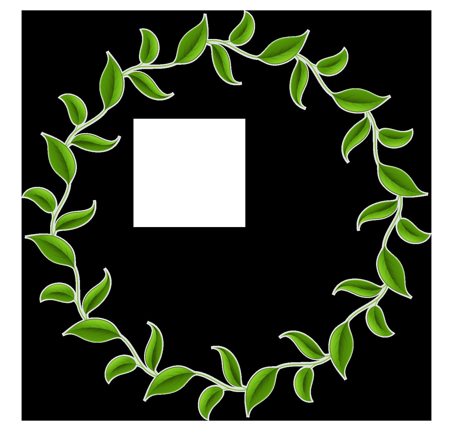1490x1416 Wreaths Vector Border ~ Frames ~ Illustrations ~ Hd Images ~ Photo