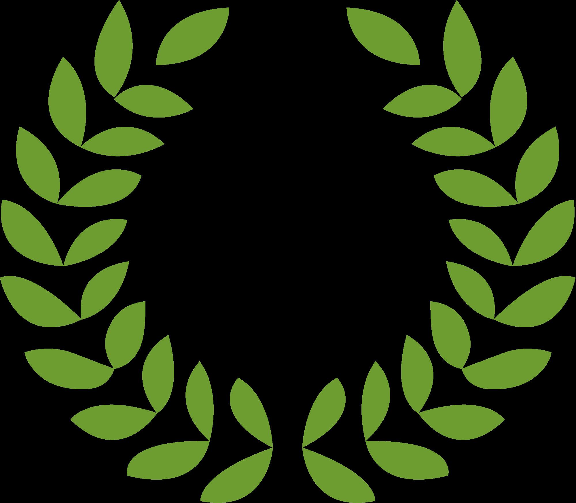 2000x1746 Filegreek Roman Laurel Wreath Vector.svg