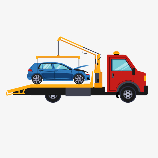 650x651 Red Wrecker Service Truck, Red, Wrecker, Car Repair Png And Vector