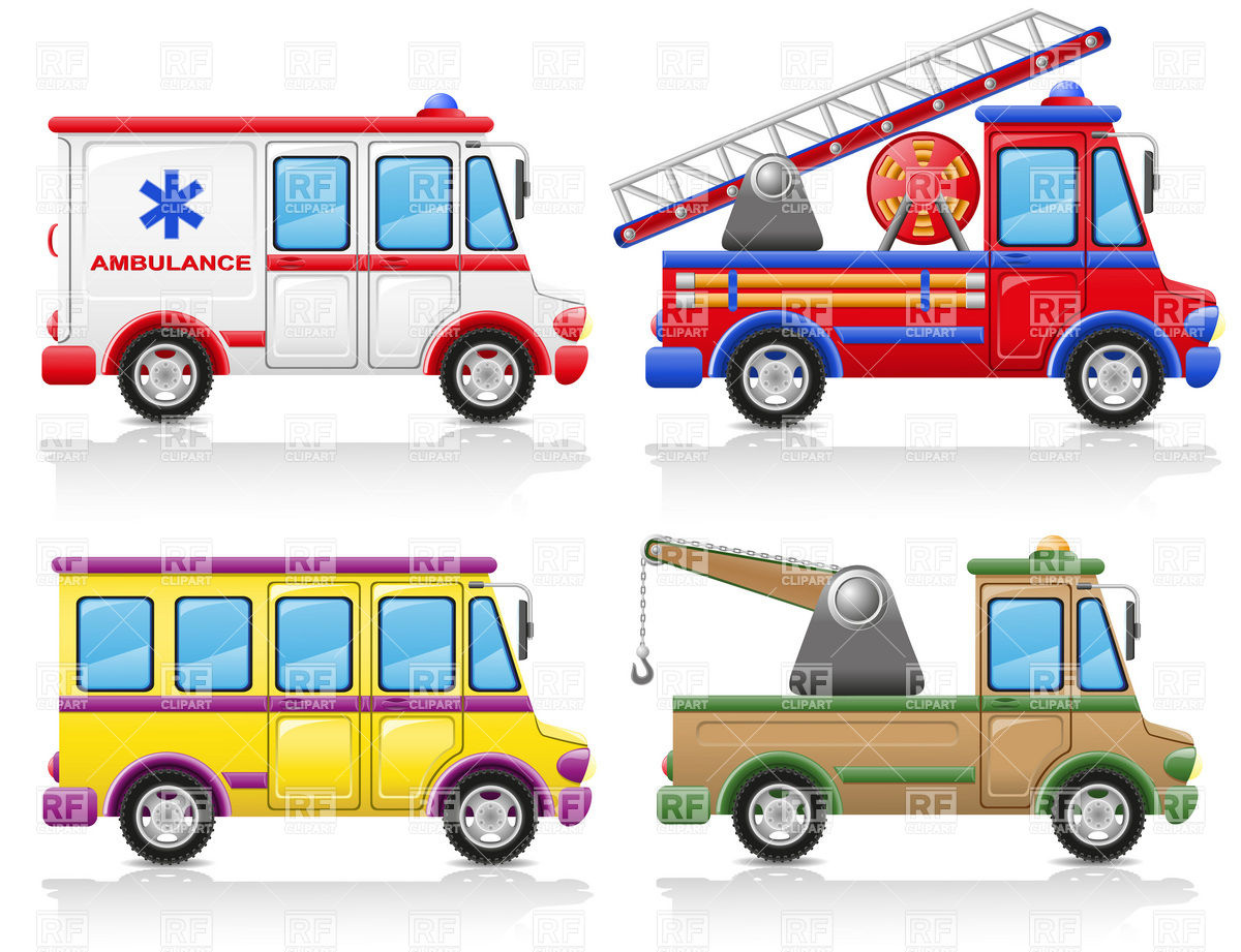 1200x921 Service Vehicles Icons