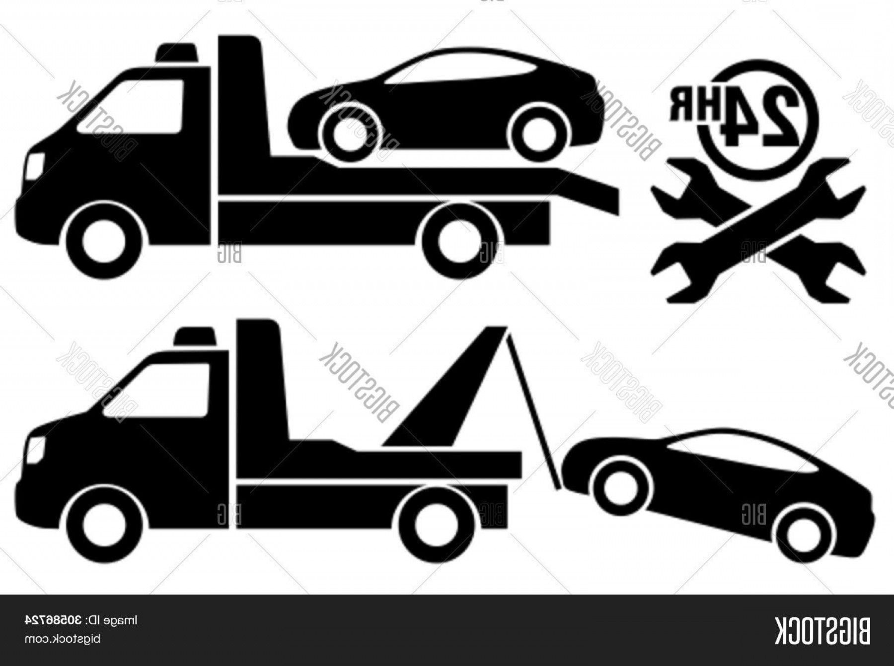 1800x1342 Stock Vector Car Towing Truck Icon Lazttweet