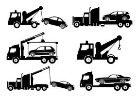 286x200 Towing Free Vector Art