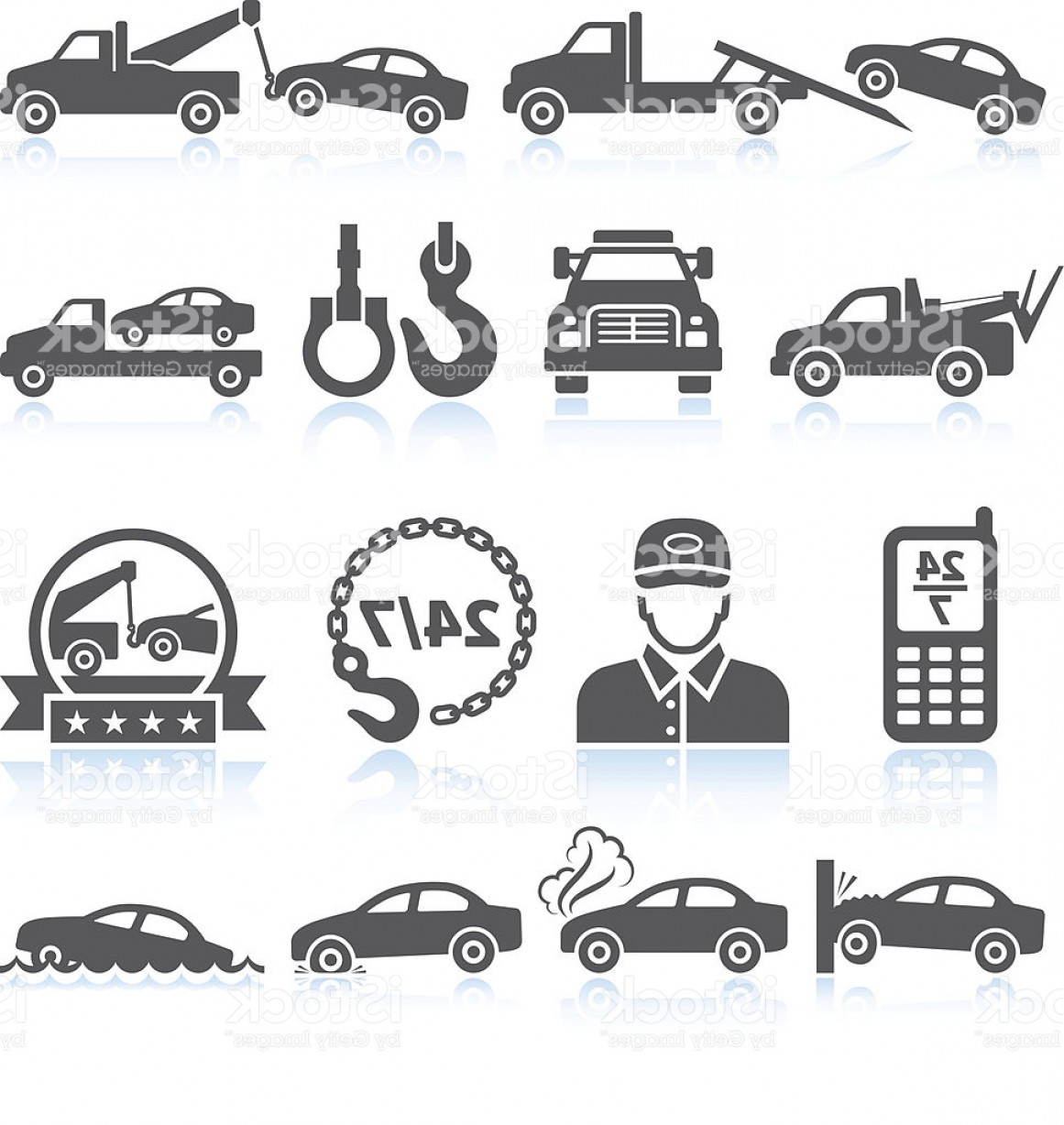 1161x1228 Towing Truck Black White Royalty Free Vector Icon Set Gm Sohadacouri
